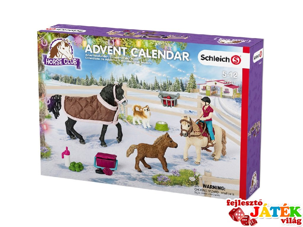 schleich adventi naptár Lovas adventi naptár   Fejlesztő Játék Világ schleich adventi naptár