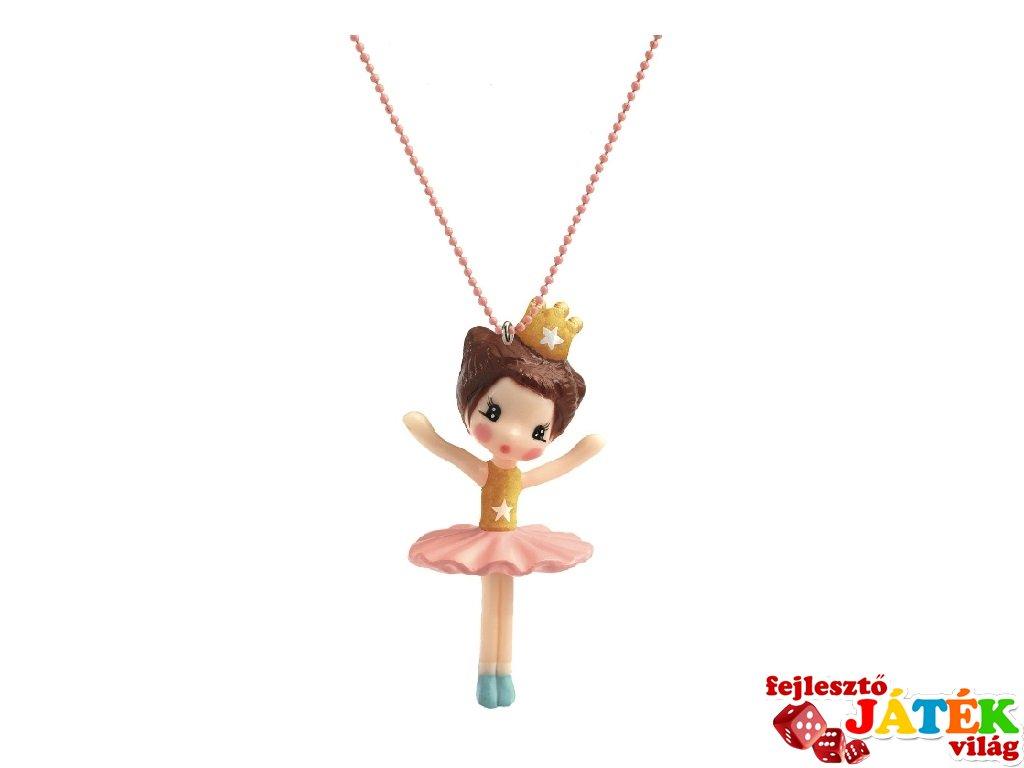 Lovely Charmes Djeco nyaklánc balerinás medállal - 3800