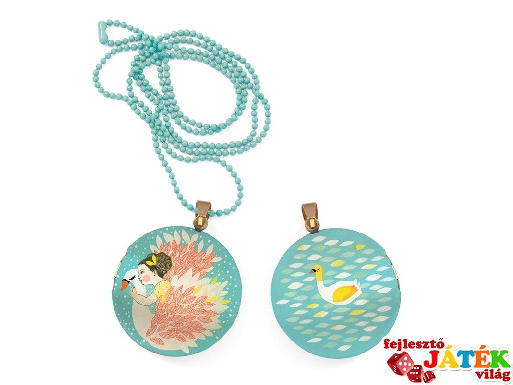 Lovely Surprise Djeco nyaklánc medállal, Hattyú - 3841