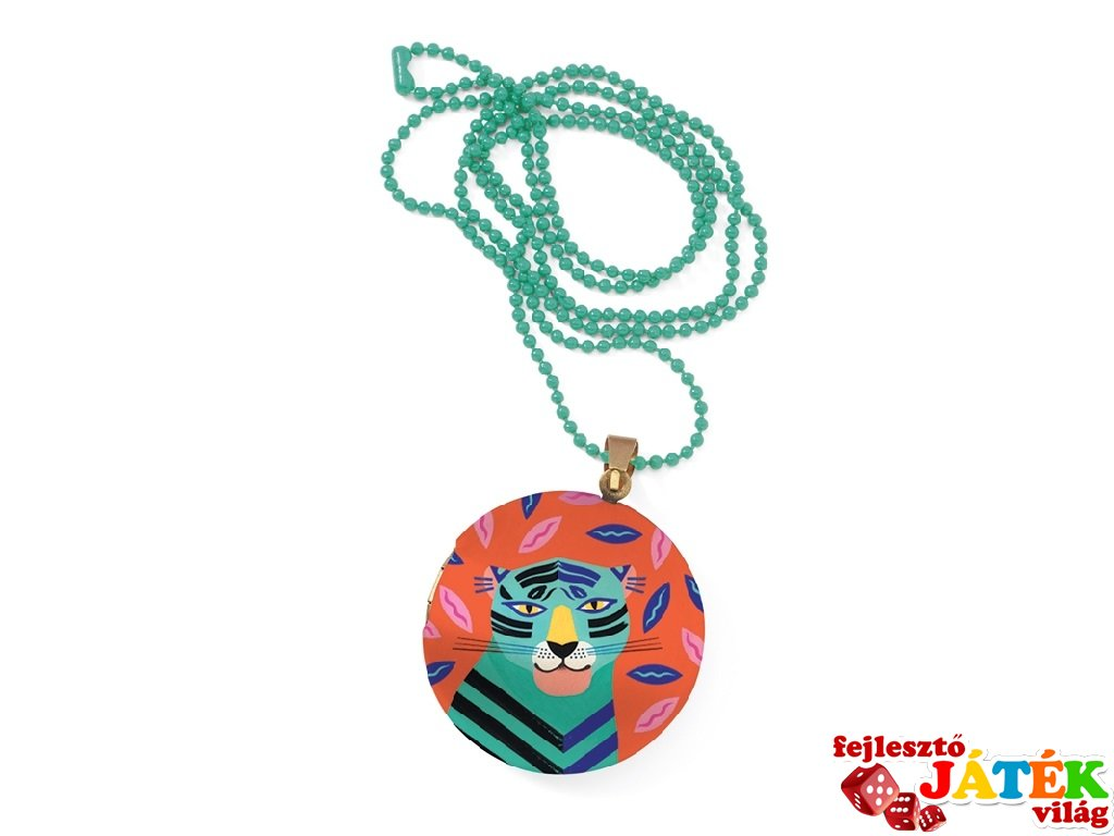 Lovely Surprise Djeco nyaklánc medállal, Tigris - 3842