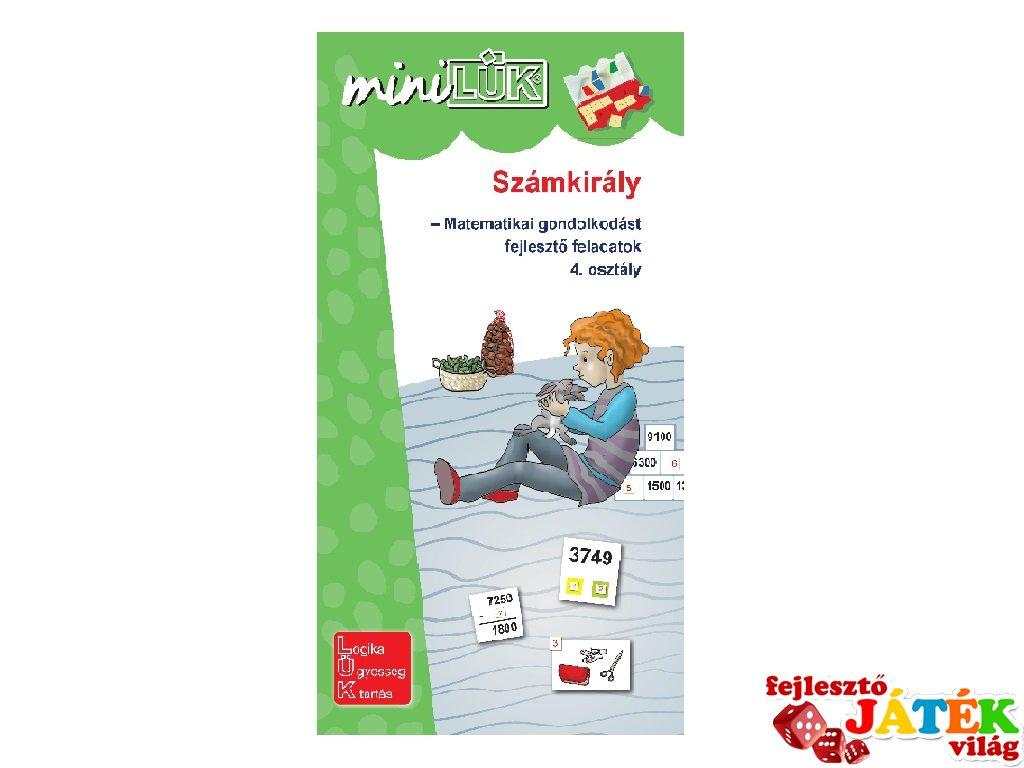 Lük Mini Számkirály 4. osztály, egyszemélyes fejlesztő logikai játék (9-11 év)