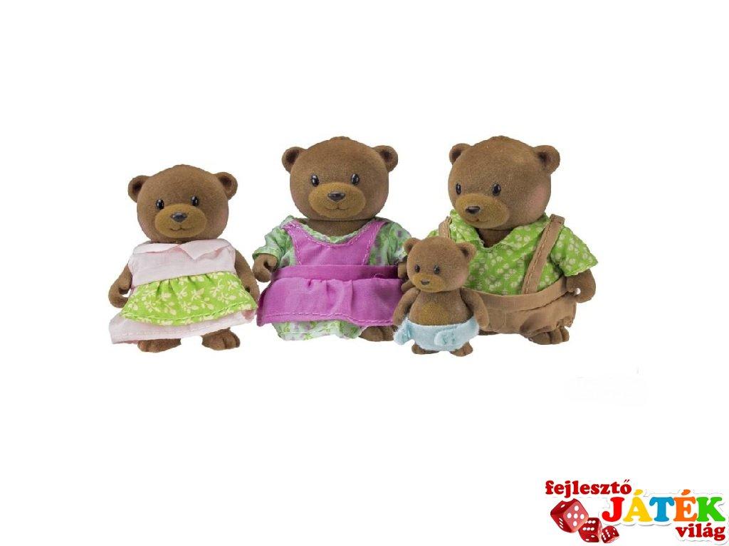 Maci család 4 tagú, Lil Woodzeez szerepjáték (3-6 év)