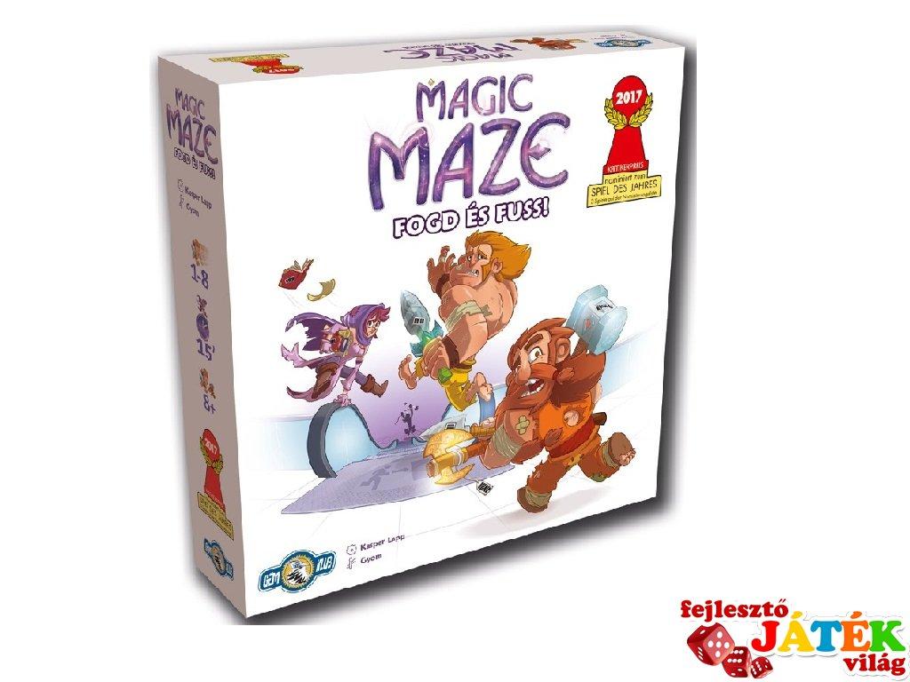 Magic Maze, Fogd és Fuss! (2017 díjnyertes kooperációs parti társasjáték, 8-99 év)