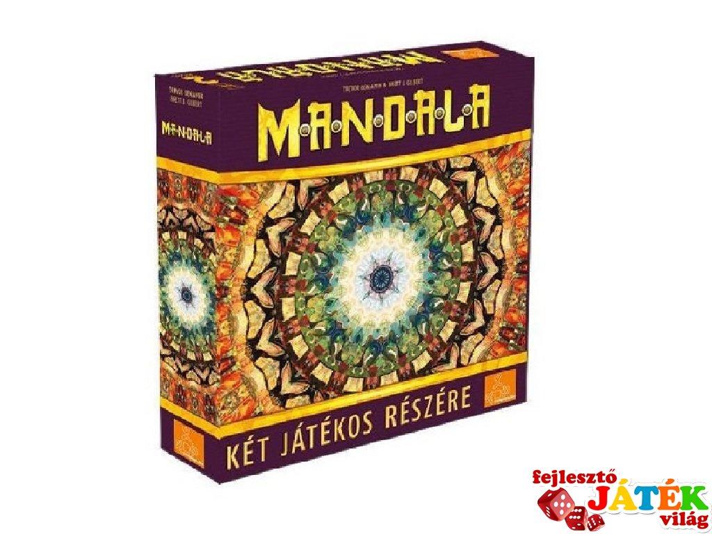 Mandala, kétszemélyes stratégiai társasjáték (10-99 év)