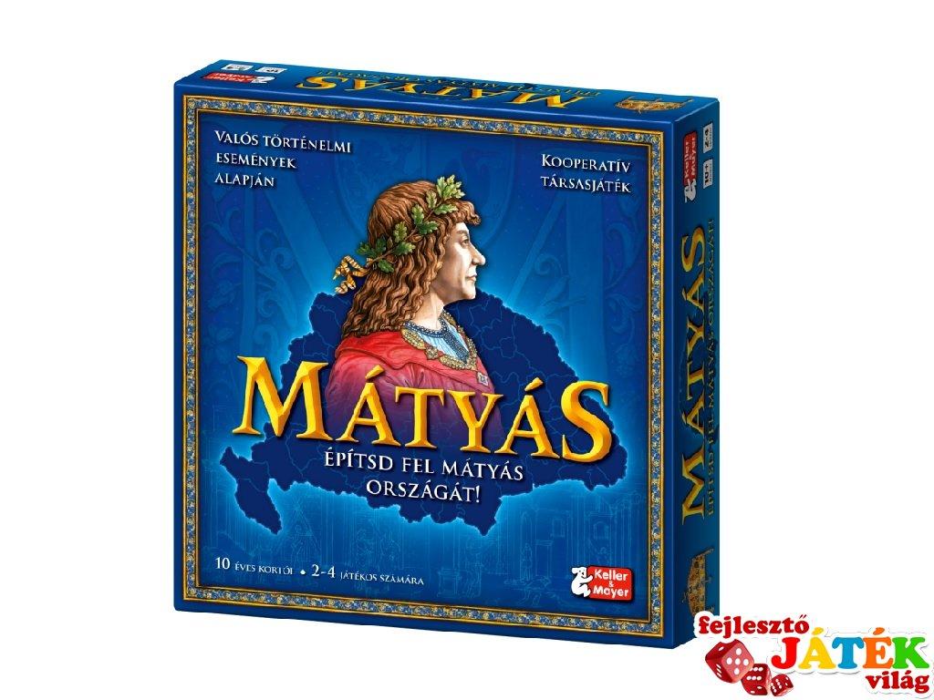 Mátyás kooperatív társasjáték, Keller & Mayer történelmi családi játék (10-99 év)