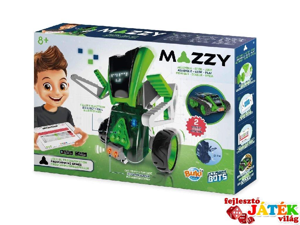 Mazzy szerelhető, átalakítható robot, Buki tudományos robotépítő játék (8-99 év)