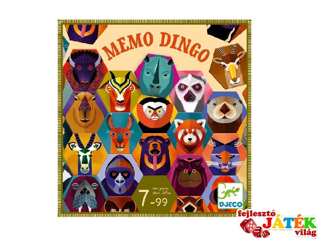 Memo Dingo, Djeco memória társasjáték - 8538 (7-99 év)