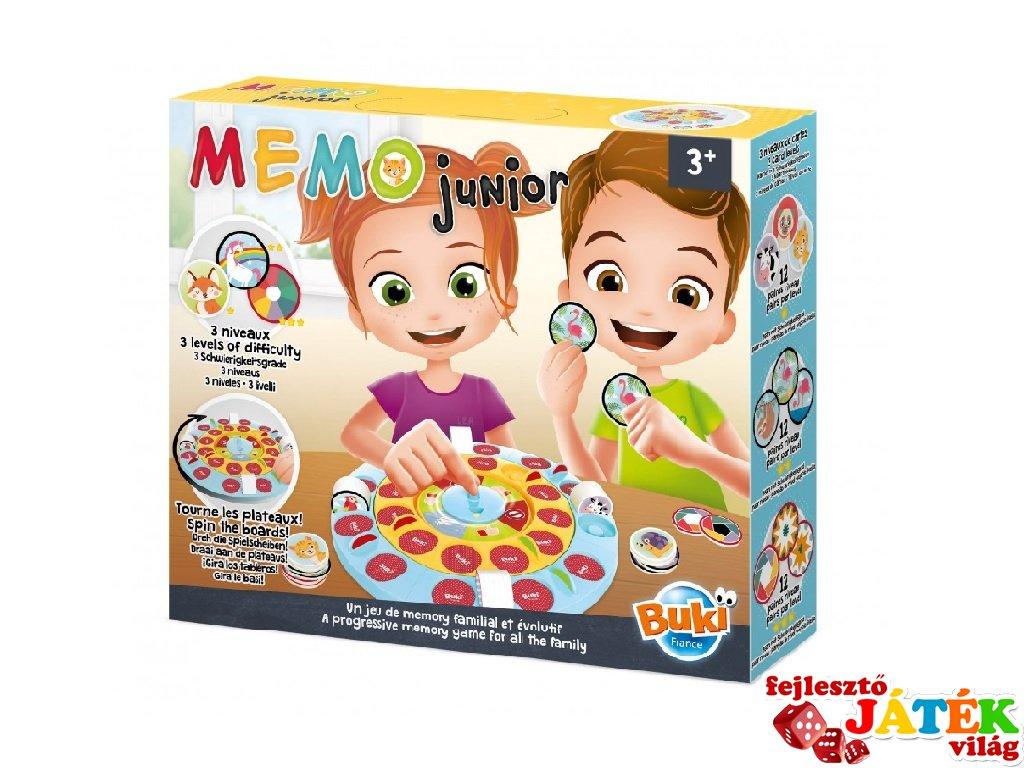 Memo junior, Buki társasjáték (3-7 év)