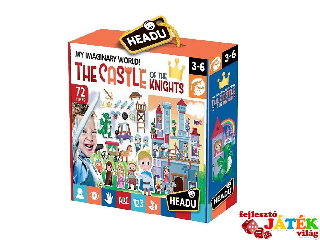 Mese puzzle, lovagi vár (HED, 3-6 év)