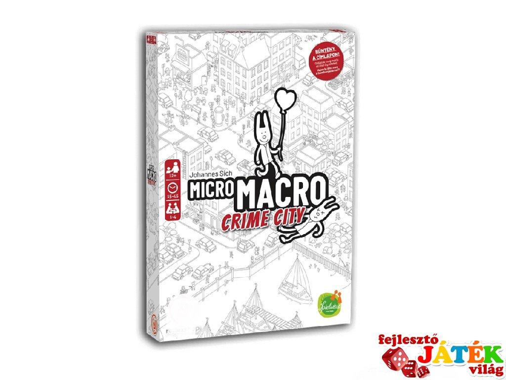 MicroMacro Crime City, nyomozós társasjáték, 2021-es ÉV JÁTÉKA díj (12-99 év)