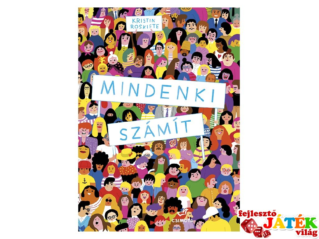 Mindenki számít, böngésző mesekönyv gyerekeknek (5-8 év)