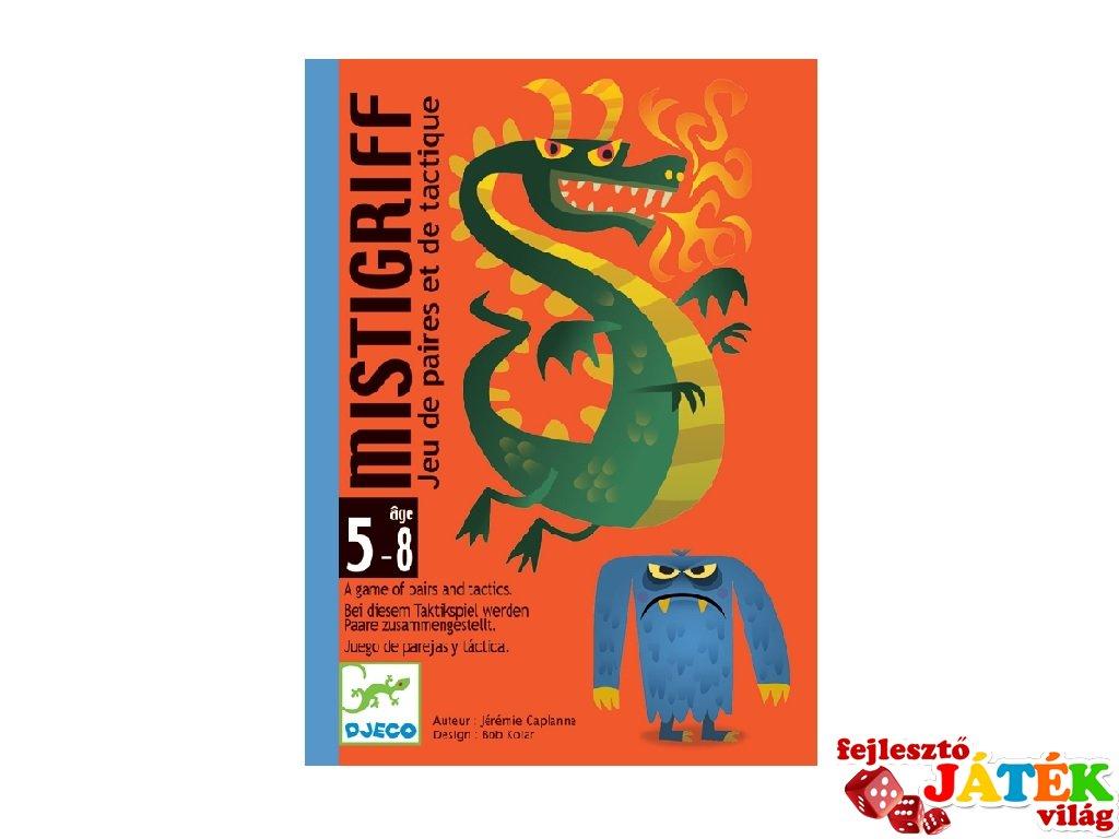 Mistigriff, szörnyes Fekete Péter, Djeco párkereső kártyajáték - 5142 (4-7 év)