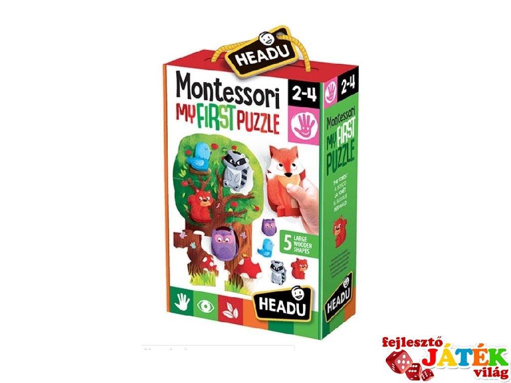Montessori puzzle Az Erdő, bébi kirakó (HED, 2-4 év)