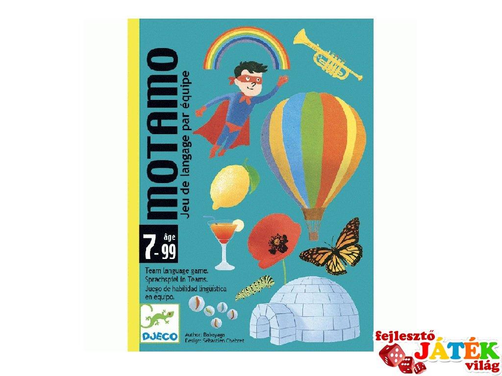 MotaMo Mondandó, Djeco beszélgetős kártyajáték - 5095 (7-99 év)