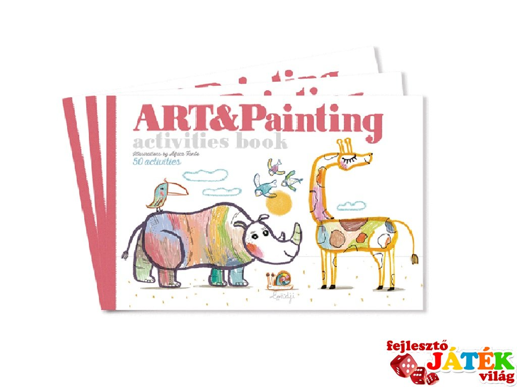 Művészi füzet Színezésre fel!, kreatív készlet (3-6 év)