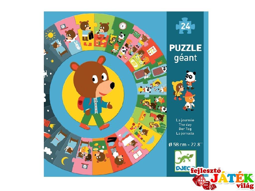 Napirend Djeco nagyméretű 24 db-os történet puzzle - 7015 (3-6 év)