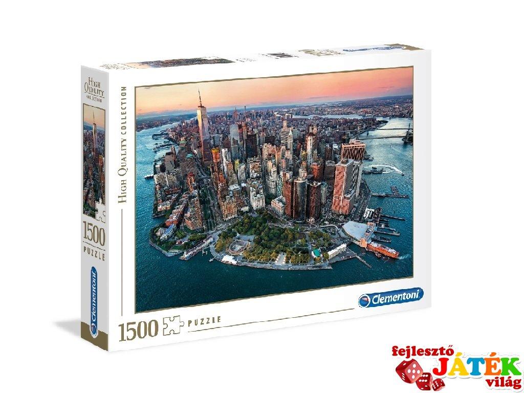 New York puzzle, 1500 db-os kirakó (CLEM, 9-99 év)