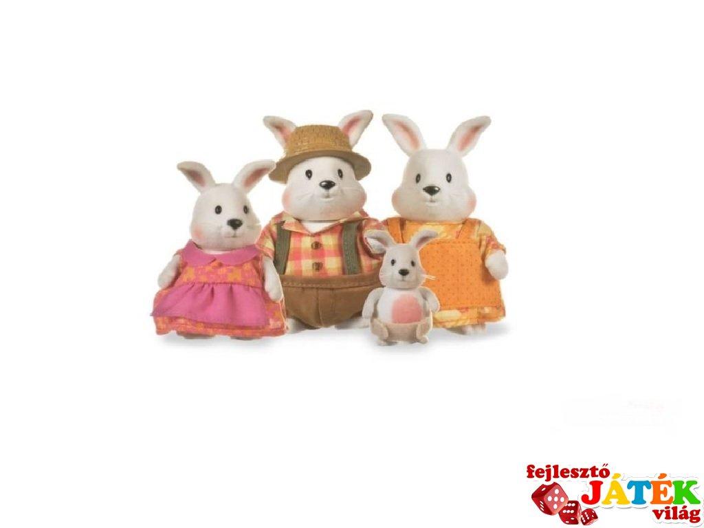 Nyuszi család 4 tagú, Lil Woodzeez szerepjáték (3-6 év)