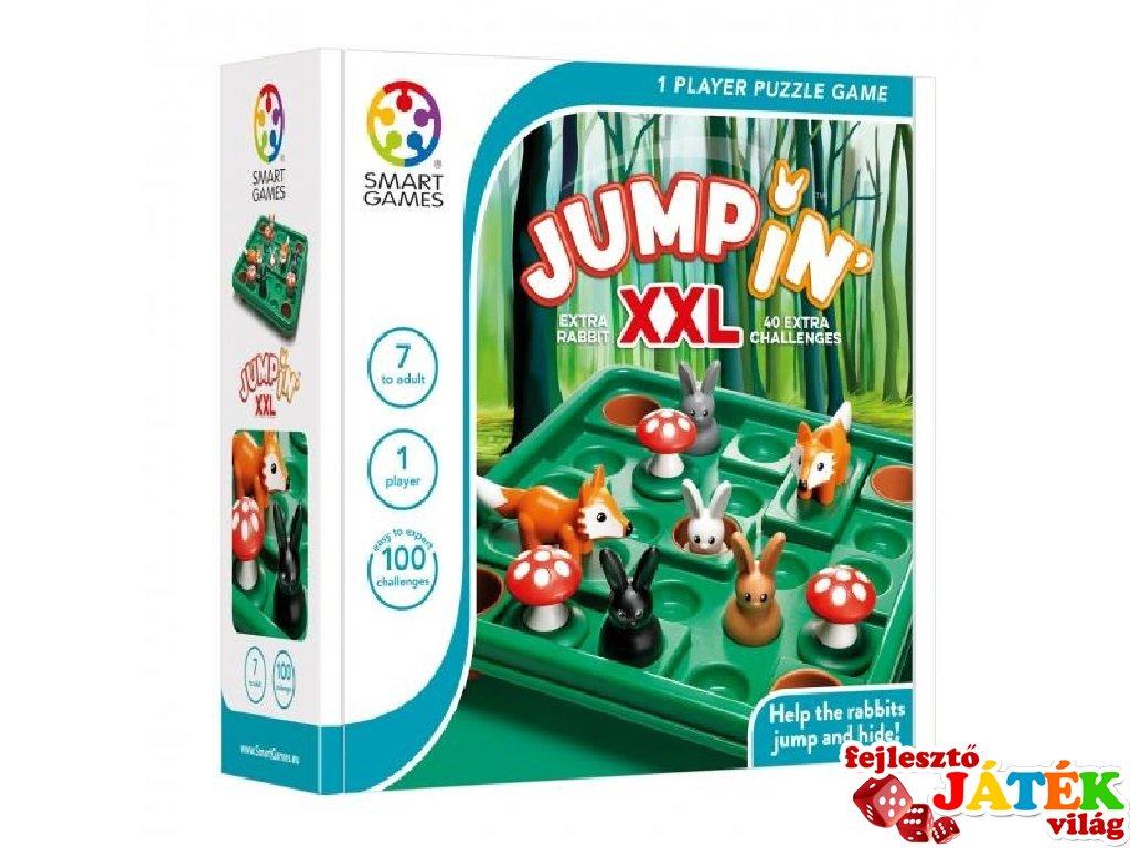 Nyuszi hopp! XXL méretben, Smart Games logikai játék (100 feladvány, 7-99 év)