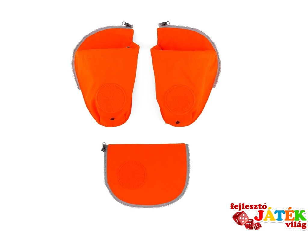 Oldalzseb Ergobag Prémium ergonómikus iskolatáskához, narancssárga