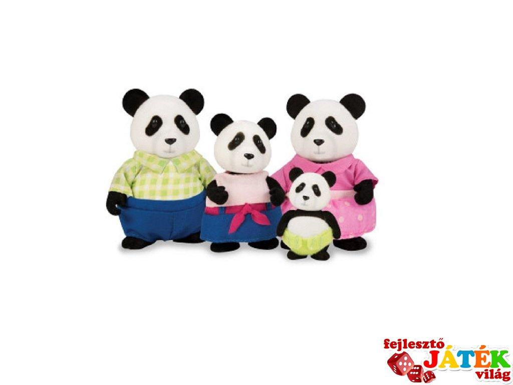 Panda család 4 tagú, Lil Woodzeez szerepjáték (3-6 év)