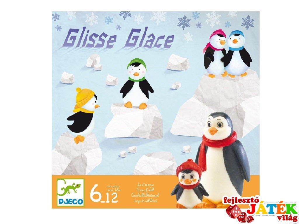 Pingvinfocizó, Free Slide Djeco társasjáték - 8406 (gombfoci újragondolva, 6-10 év)