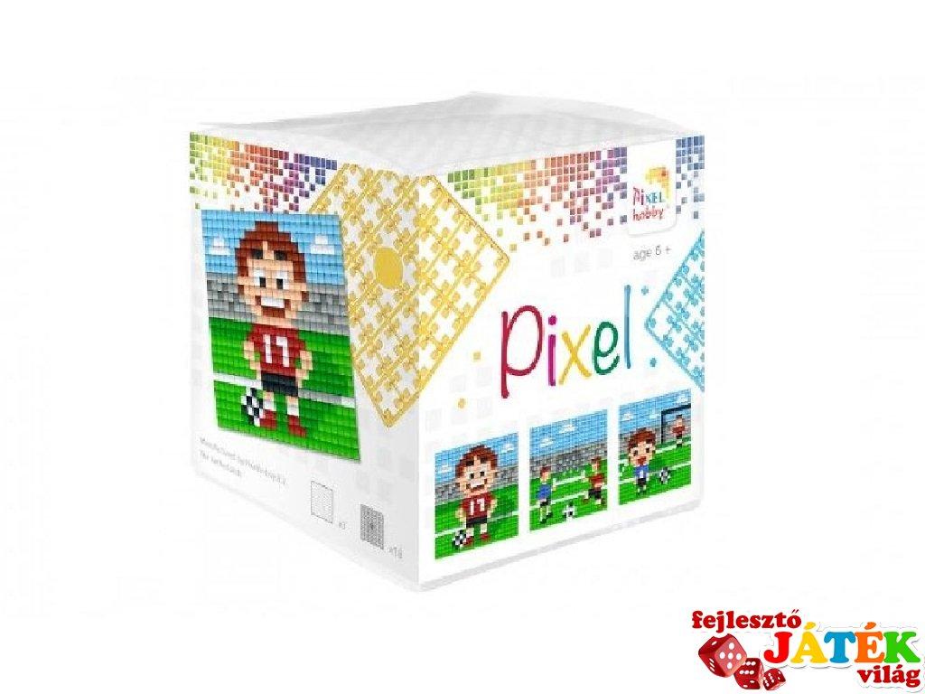 Pixelhobby, Pixel kocka, futball (29007, 3db 6x6 cm-es képhez, 7-99 év)