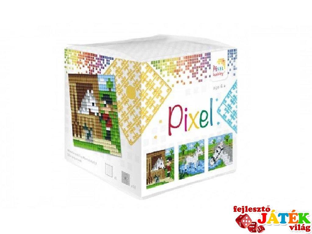 Pixelhobby, Pixel kocka, ló (29006, 3db 6x6 cm-es képhez, 7-99 év)