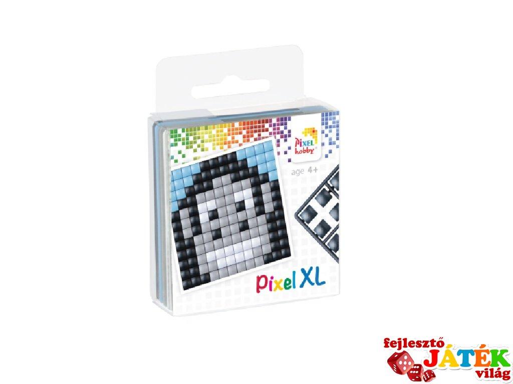 Pixelhobby, Pixel XL készlet, gorilla (27016, 1db 6x6 cm-es alaplap, 4 szín, 4-6 év)