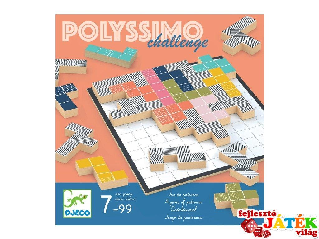 Polissymo Challenge Djeco térfeltöltő taktikaii társasjáték - 8493 (7-99 év)