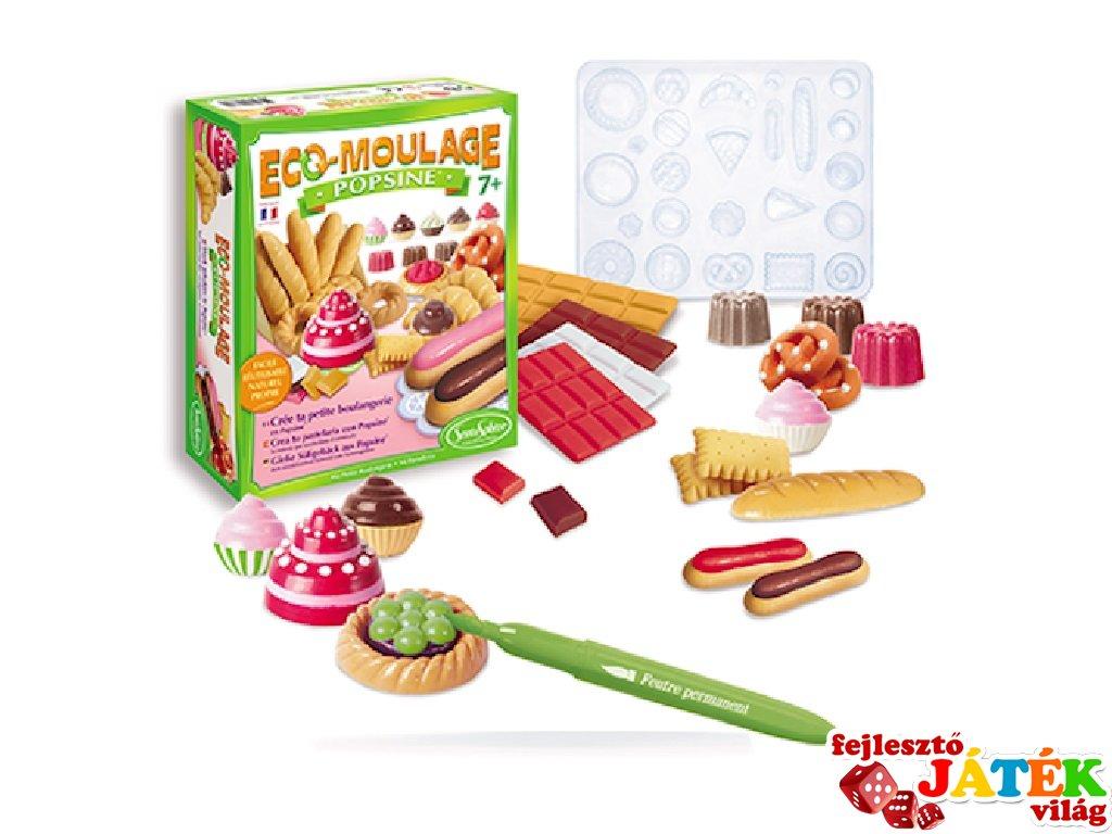 Porcelán sütemény készítő készlet (Sentosphére, kreatív játék, 7-14 év)