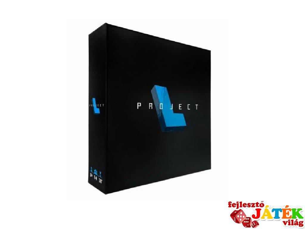 Project L, logikai társasjáték (13-99 év)
