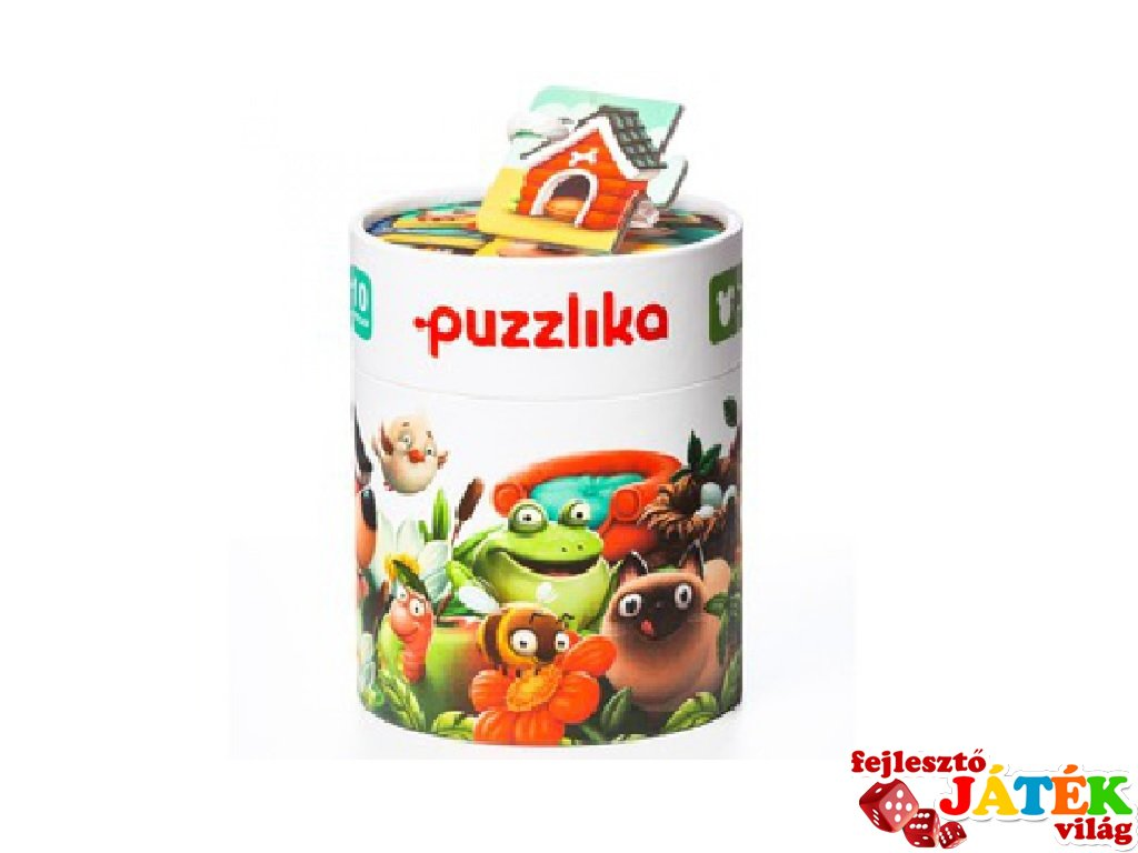 Puzzlika Állatok és lakhelyeik, 20 db-os XXL puzzle (2-5 év)