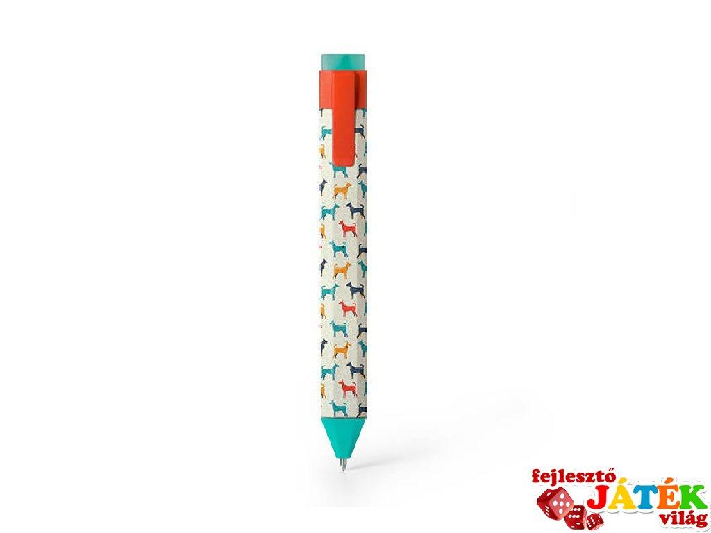 Radírozható könyvjelző toll, Kutyus