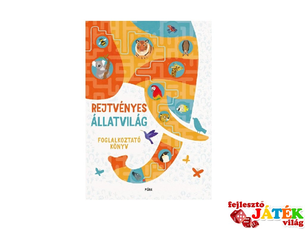 Rejtvényes állatvilág, foglalkoztató könyv (MO, 6-10 év)