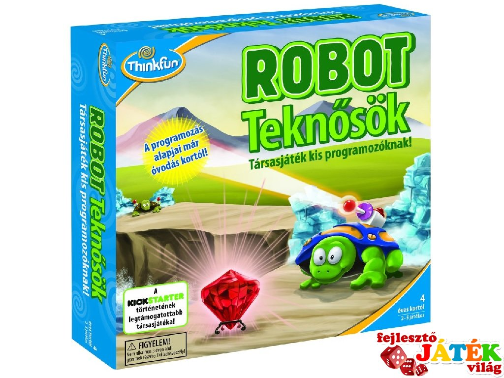 Robot teknősök - Fejlesztő Játék Világ