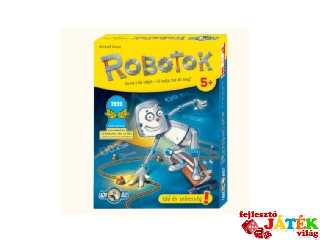 Robotok, kooperatív partijáték (5-10 év)