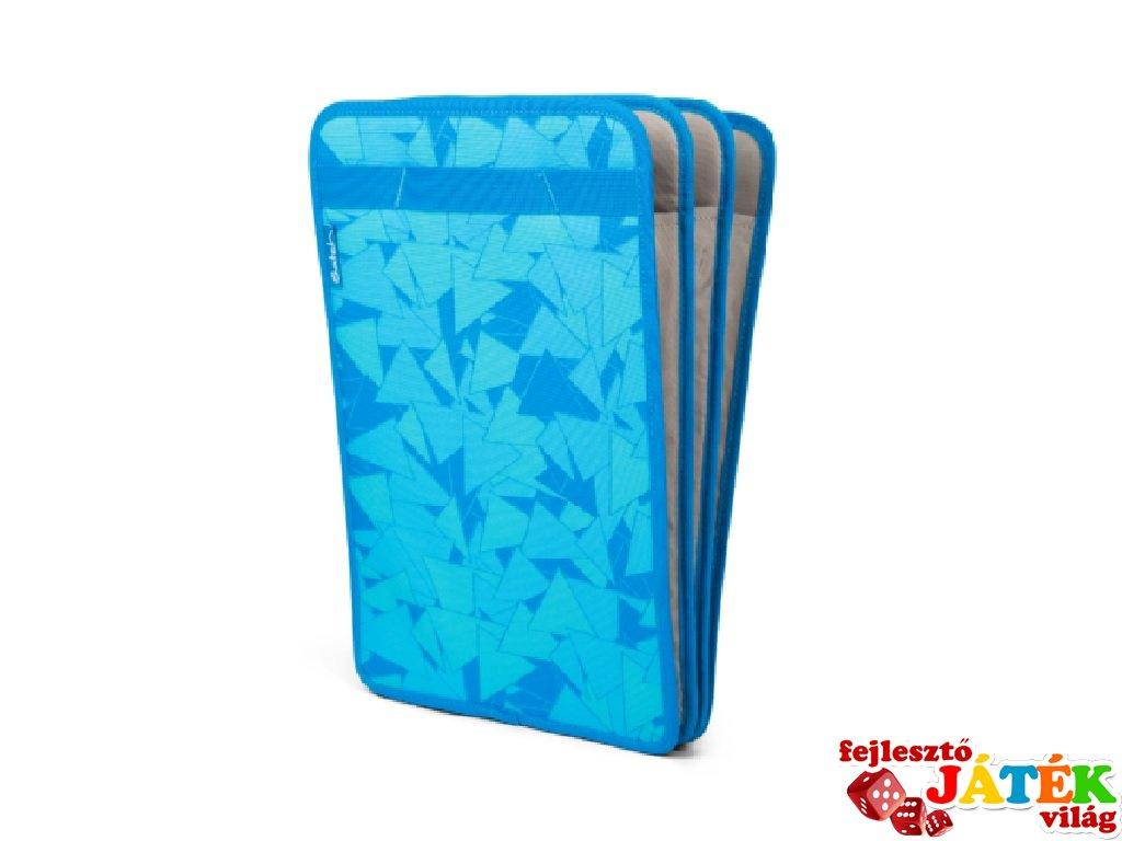 Satch 3 rekeszes füzettartó, rendszerező, kék (10-99 év)
