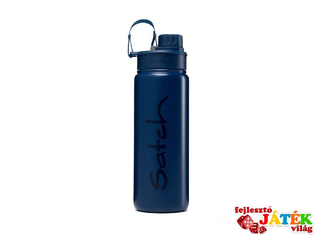Satch Inox ivókulacs, mélykék (SAT-EBO-001-648, 6-99 év)