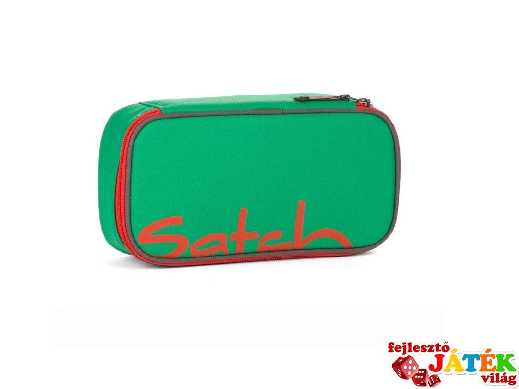 Satch tolltartó, iskolaszer, Green Steel (10-18 év, töltetlen)