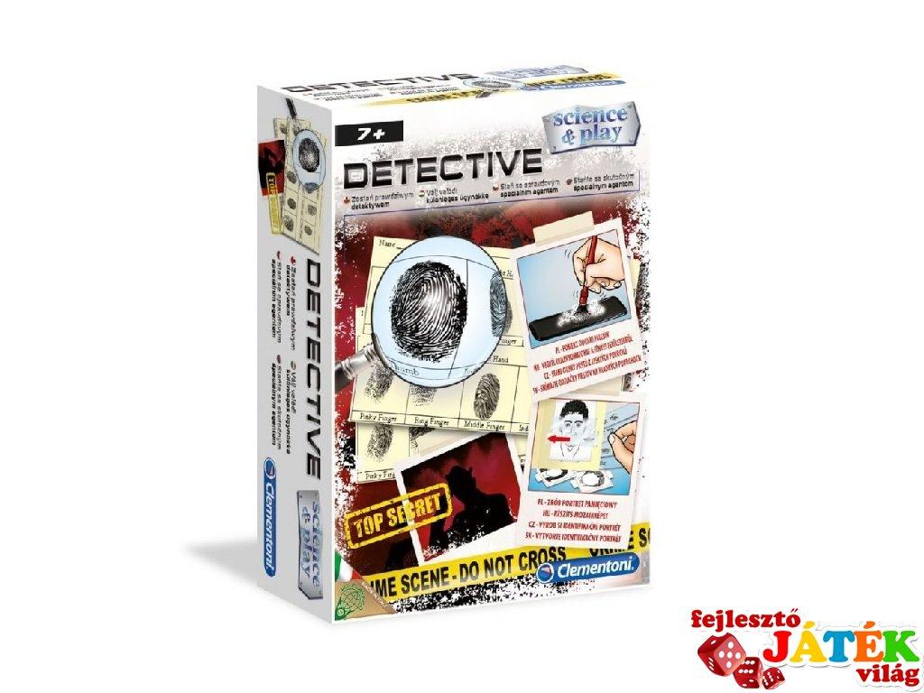Science&Play Nyomozó készlet, tudományos játék (CLEM, 7-12 év)