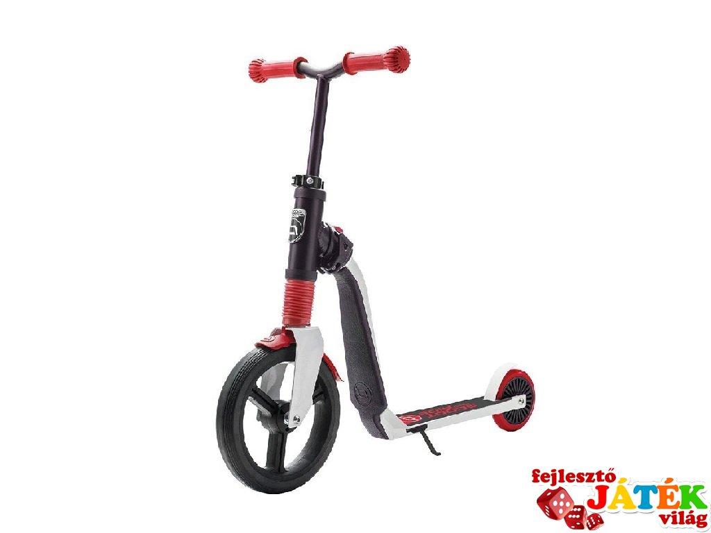 Scoot & Ride Highway freak, 2 in 1 futóbicikli és roller, Piros (3-6 év)