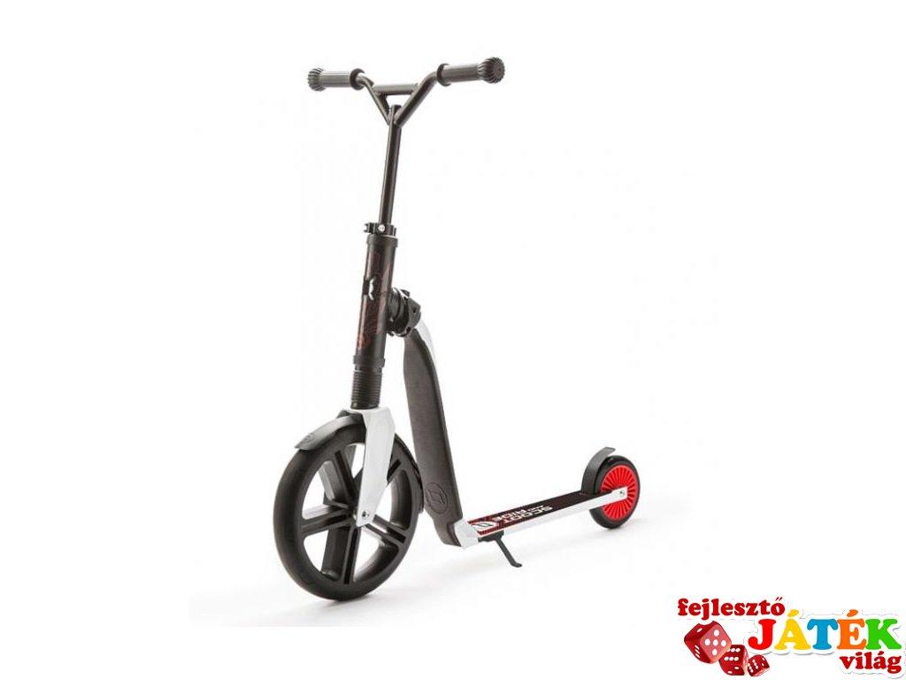 Scoot & Ride Highway gangster, 2 in 1 futóbicikli és roller, Fehér-piros (5-99 év, 100 kg-ig)