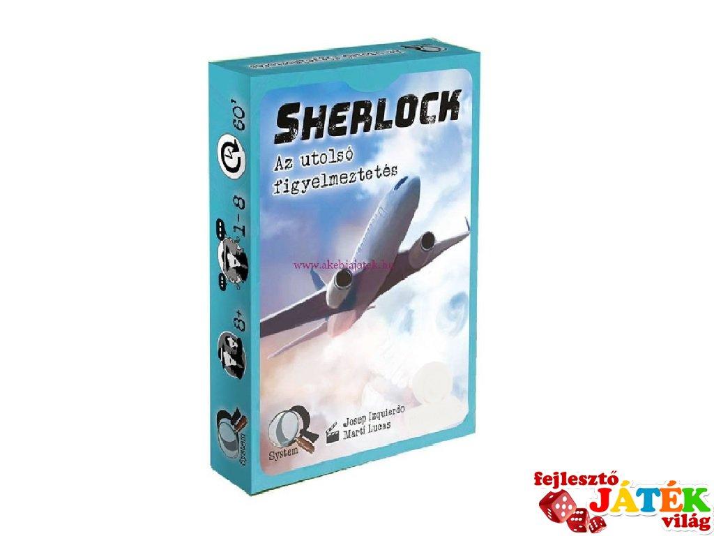 Sherlock, Az utolsó figyelmeztetés kooperációs kártyajáték (8-99 év)
