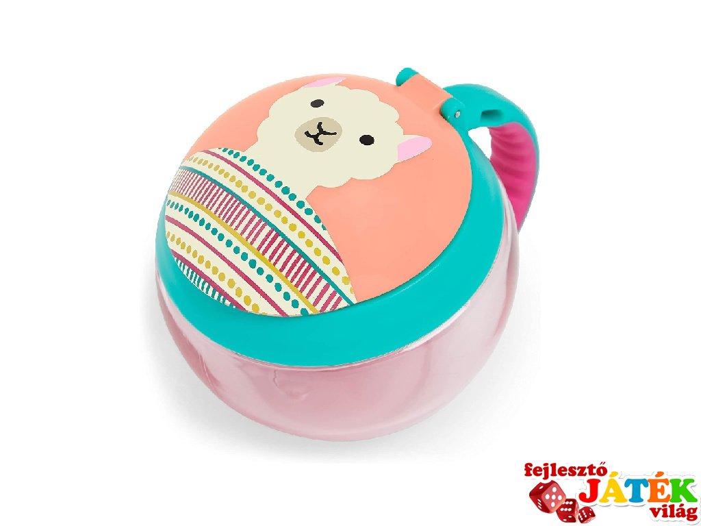 Skip Hop Snack Tartó, Láma, baba etetés (snack cup)