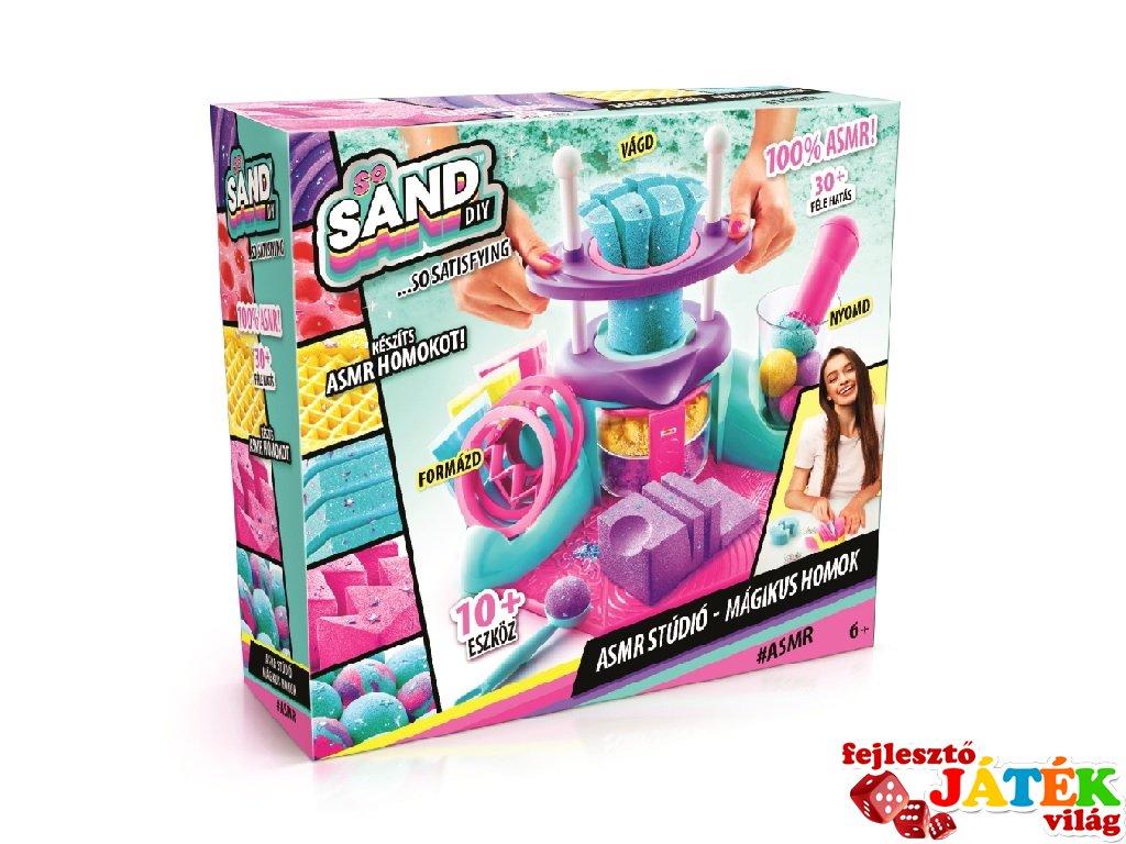 So Sand ASMR mágikus homok érzékelés stúdió, kreatív készlet