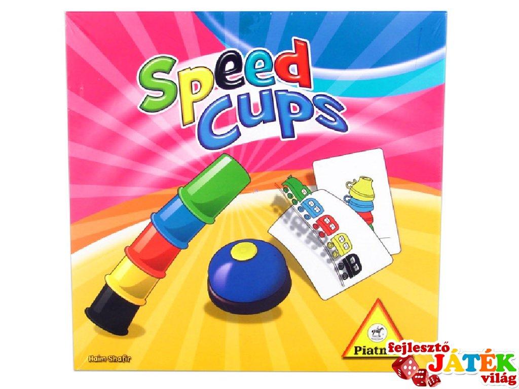 Speed Cups, Gyors poharak (Piatnik, gyorsasági logikai társasjáték, 6-14 év)