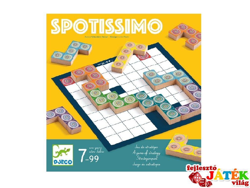 Spotissimo Djeco fa logikai játék - 8539 (7-99 év)