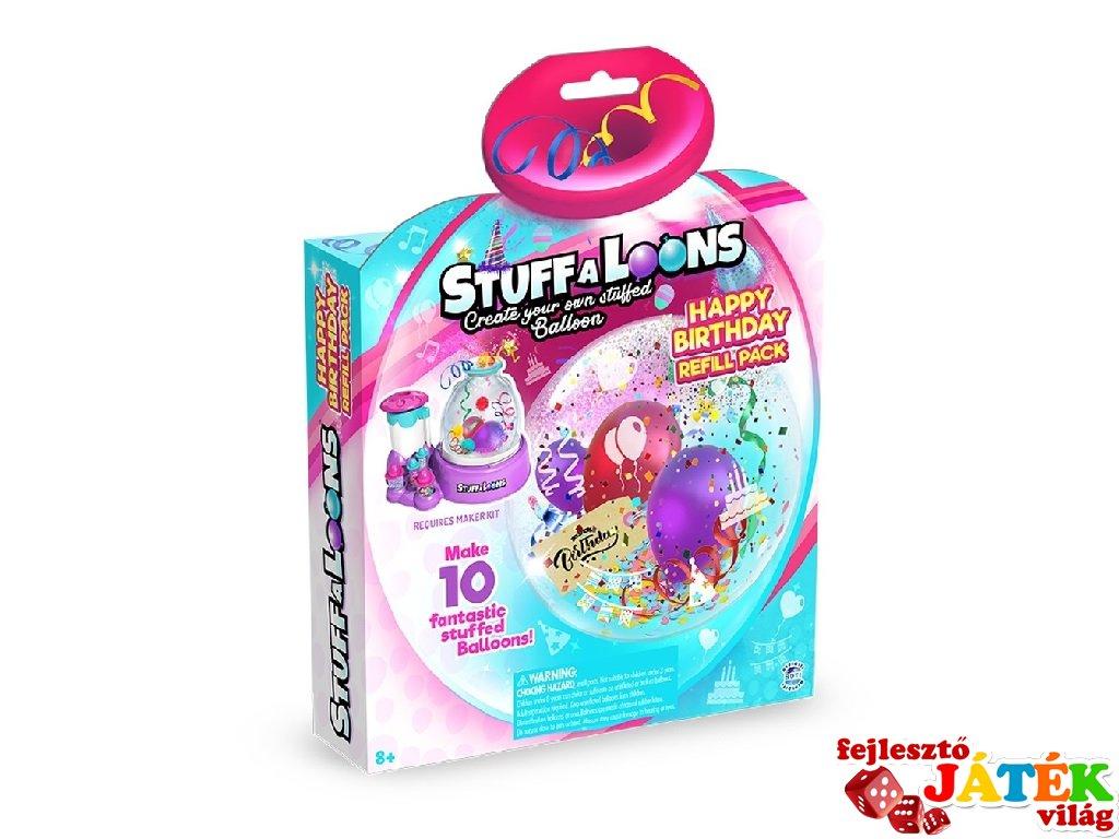 Stuff A Loons szülinapos nagy utántöltő a Lufitöltő gyárhoz, kreatív szett