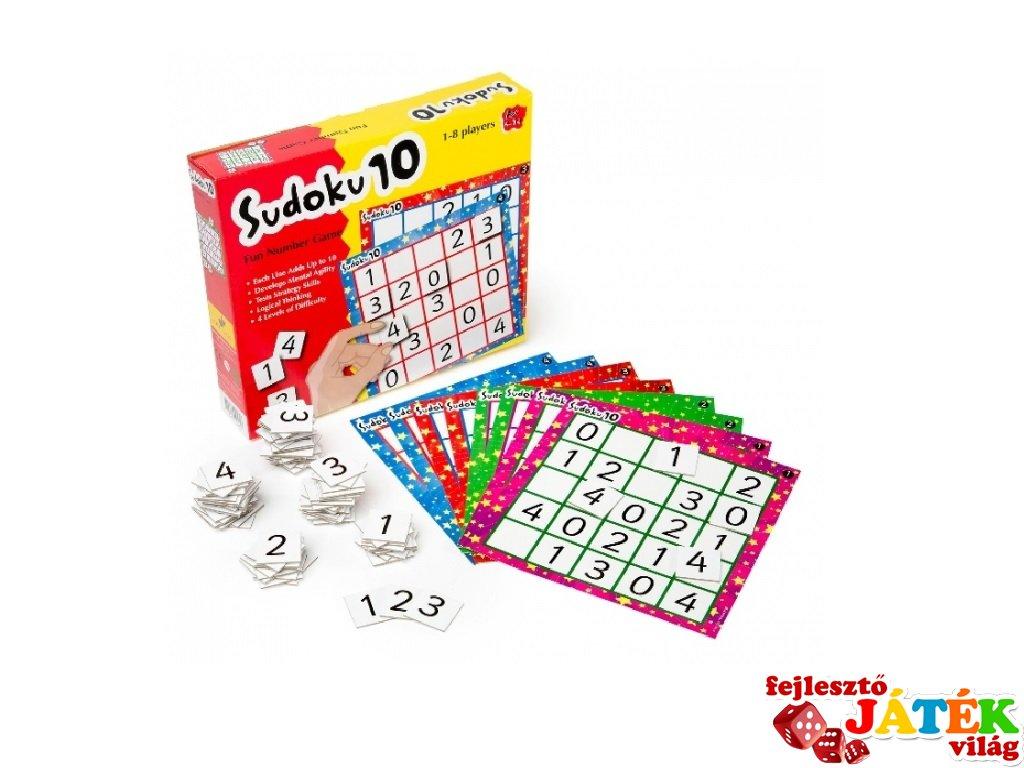 Sudoku, logikai játék (4-8 év)